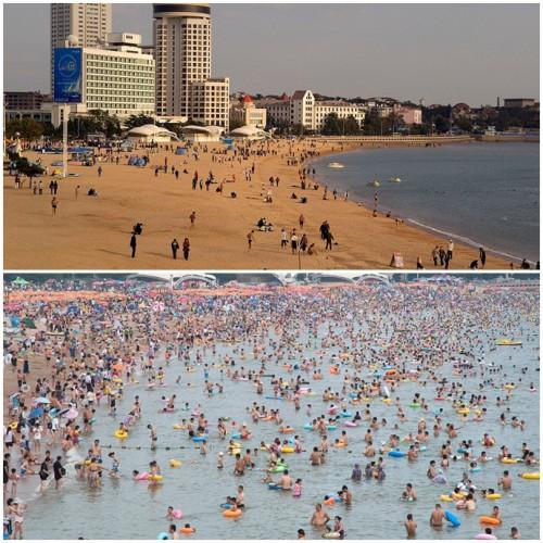 Evolusi wisata Pantai Qingdao
