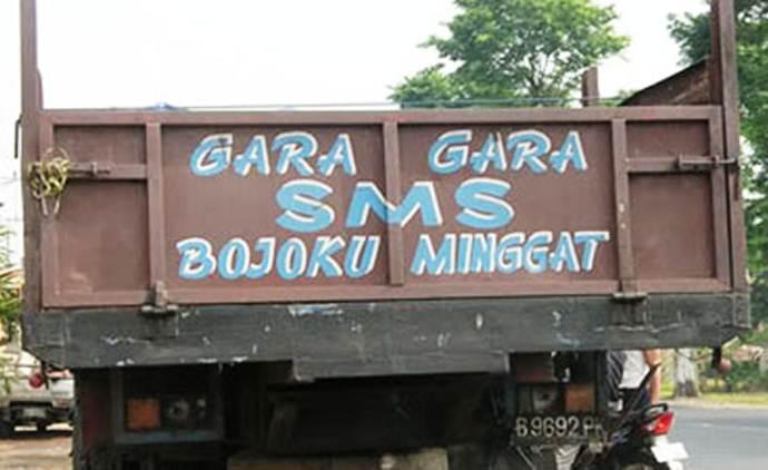 Gara-gara sms bojoku minggat