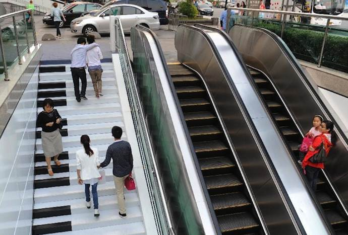 Memilih Tangga dari pada Eskalator