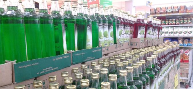 Syrup Banyak Dijual Di Pasar Tradisional Dan Pasar Modern