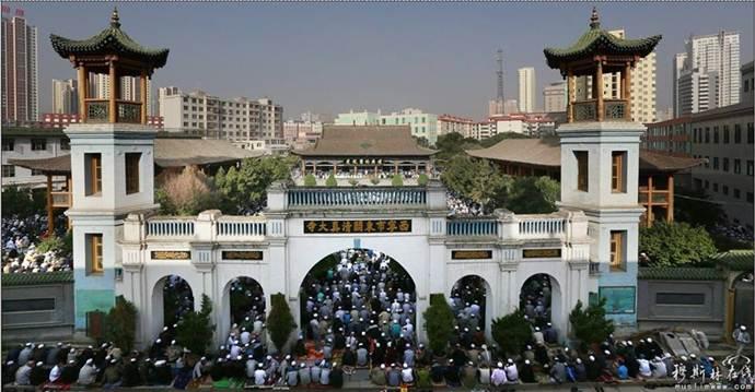 Wajah masjid yang elok dari China