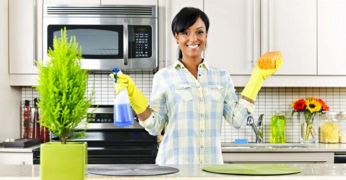 Bersih-bersih rumah sebelum lebaran