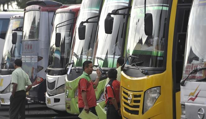 Tips mudik menggunakan bus