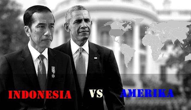INDONESIA VS AMERIKA