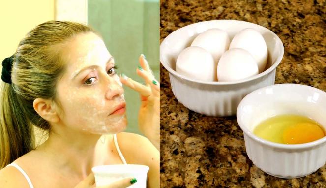 Masker Putih Telur [image source]