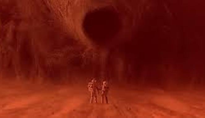 Tornado Bisa Muncul di Planet Mar [ Image Source ]