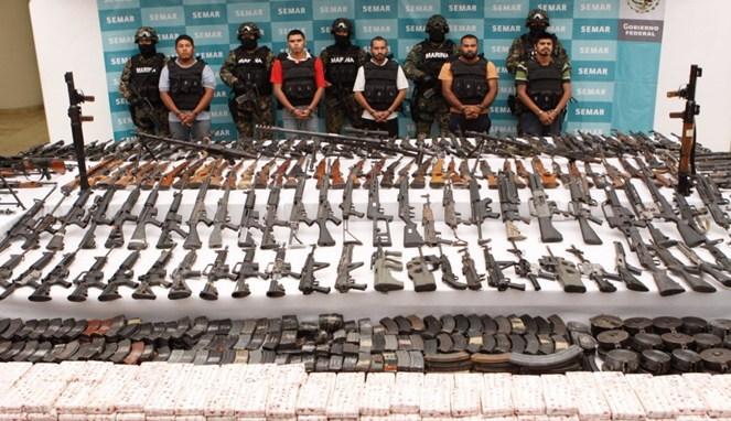 Metode Eksekusi Brutal Kartel Meksiko