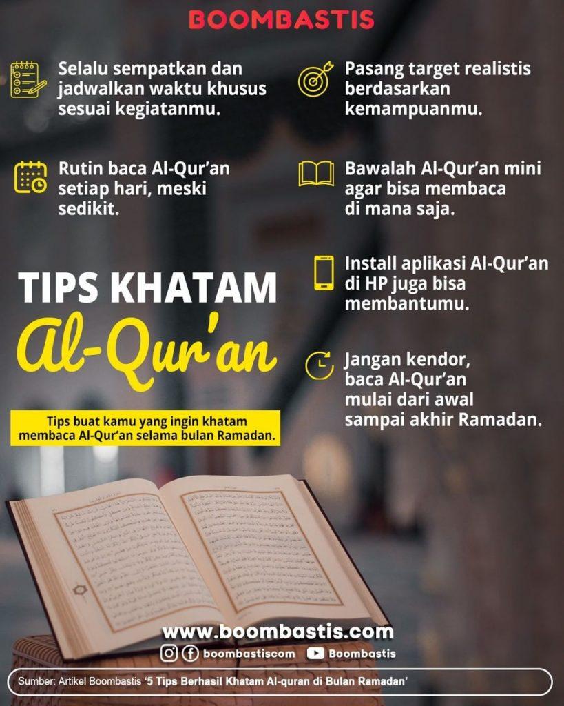 tips khatam Al-Qur'an