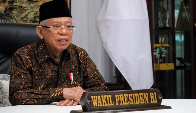 Wakil Presiden Indonesia, Ma'ruf Amin. [Sumber Gambar]